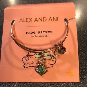 Alex and Ani Frog Prince Bracelet